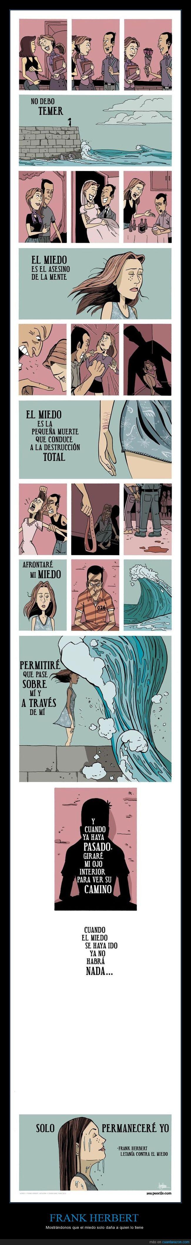 comic,Frank Herbert,historia,miedo,superación,violencia