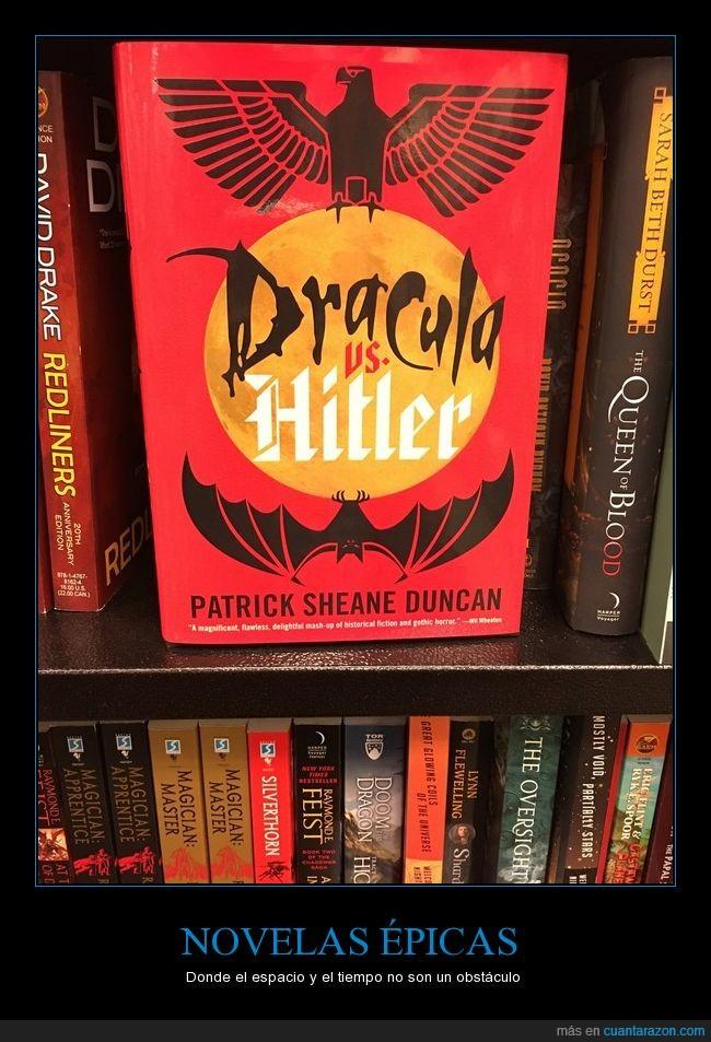 dracula,épico,hitler,libro,novela
