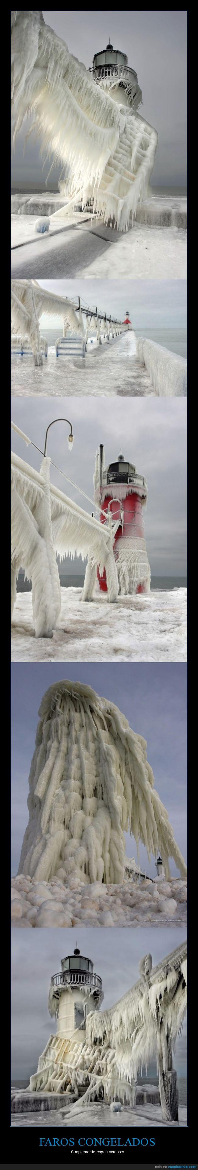 congelados,faros,hielo,Thomas Zakowski