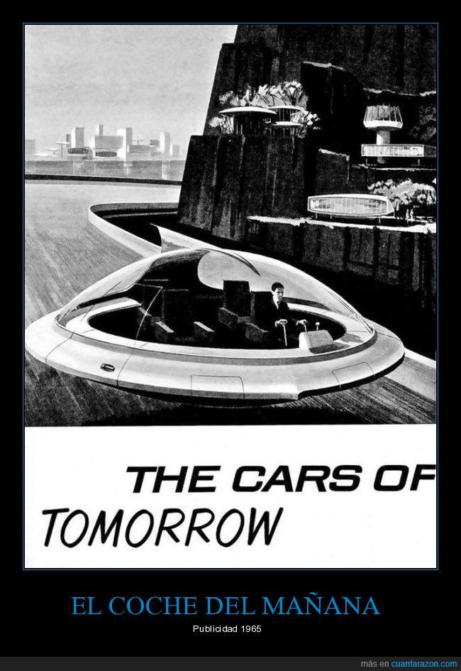 anuncio,auto,comercial,futurista,nave,platillo