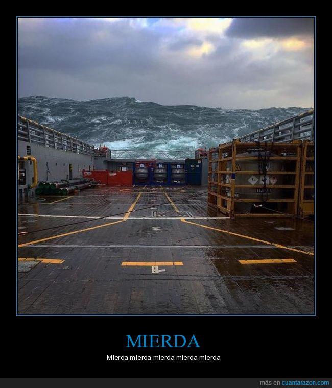 barco,mar,ola