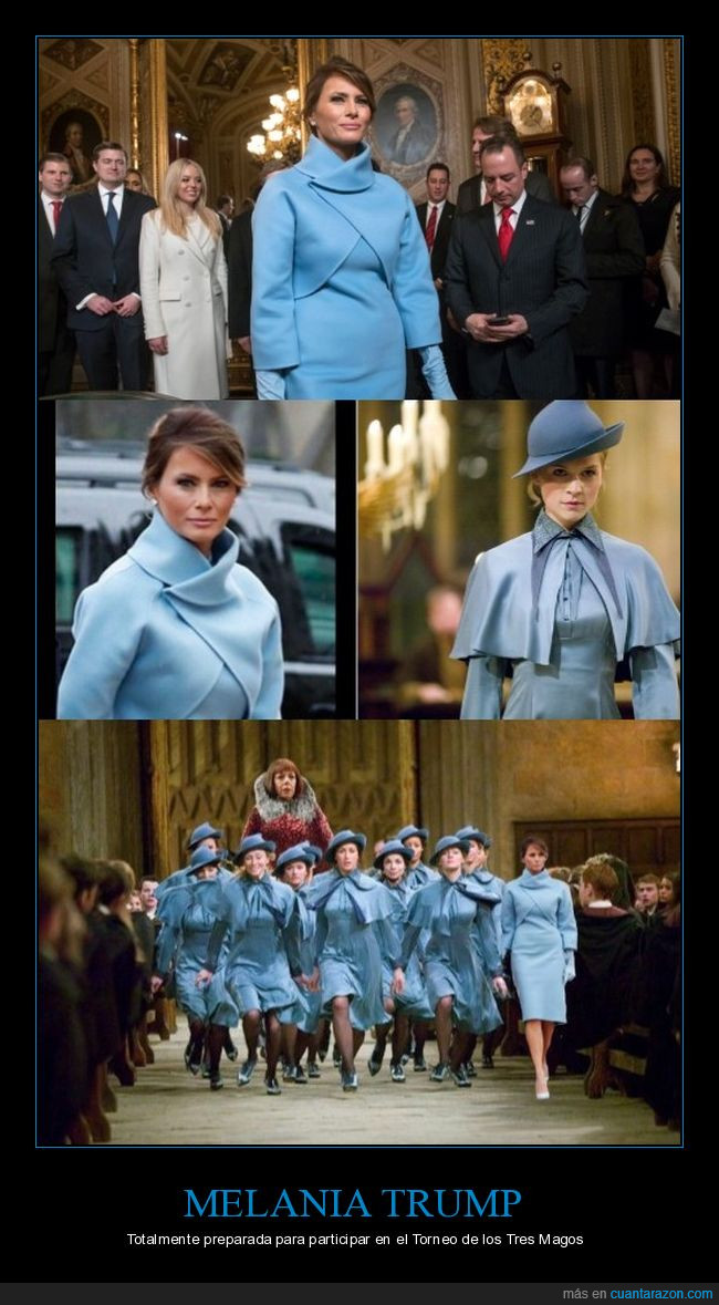 cáliz de fuego,harry potter,melania trump