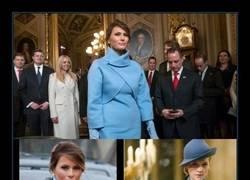 Enlace a Todo el mundo hace el mismo chiste del vestido de Melania Trump y es inevitable