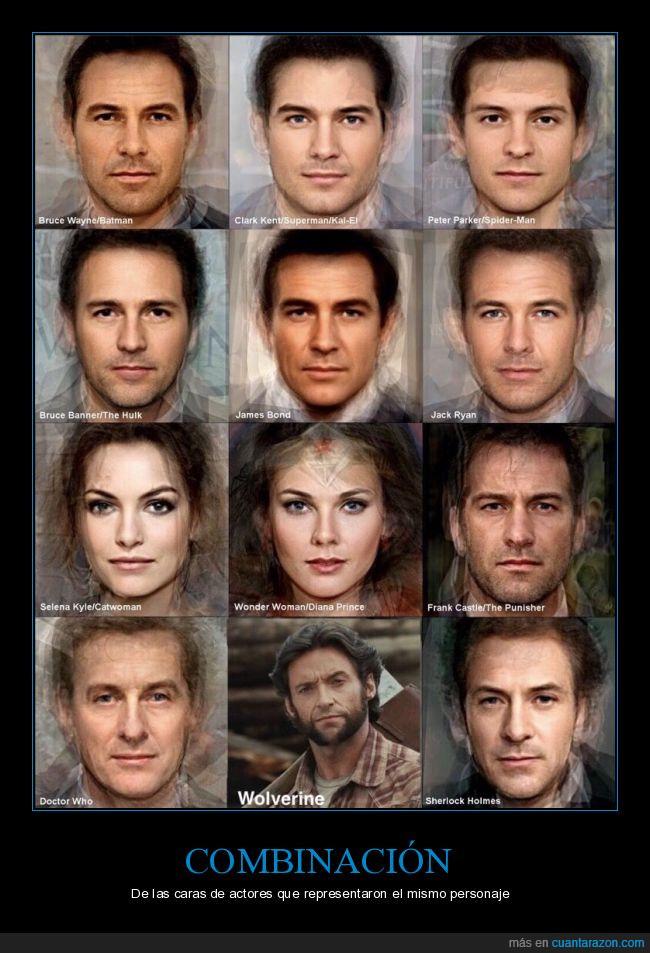 actores,caras,hugh jackman solo hay uno,lobezno,papeles,roles,wolverine