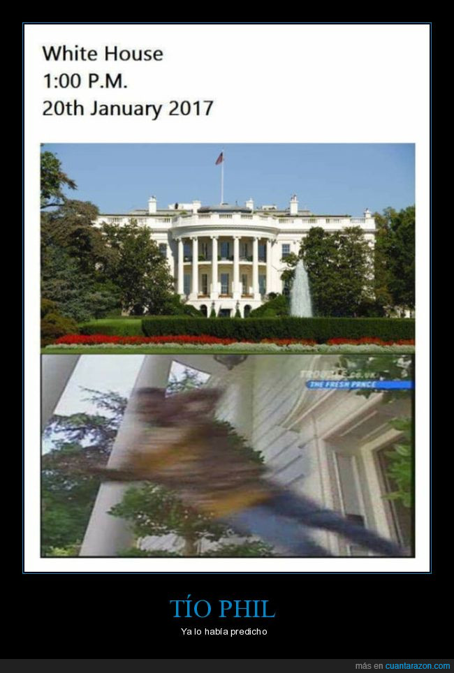 casa blanca,el príncipe de belair,negros fuera,obama,trump