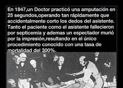 Enlace a La operación que tuvo una tasa de mortalidad del 300%