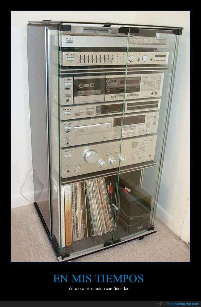 componentes,equipo de sonído,modular,rack,sonido,Sony