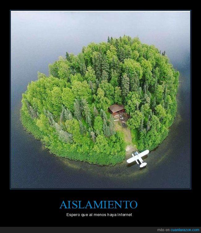 aislado,avión,casita,isla desierta