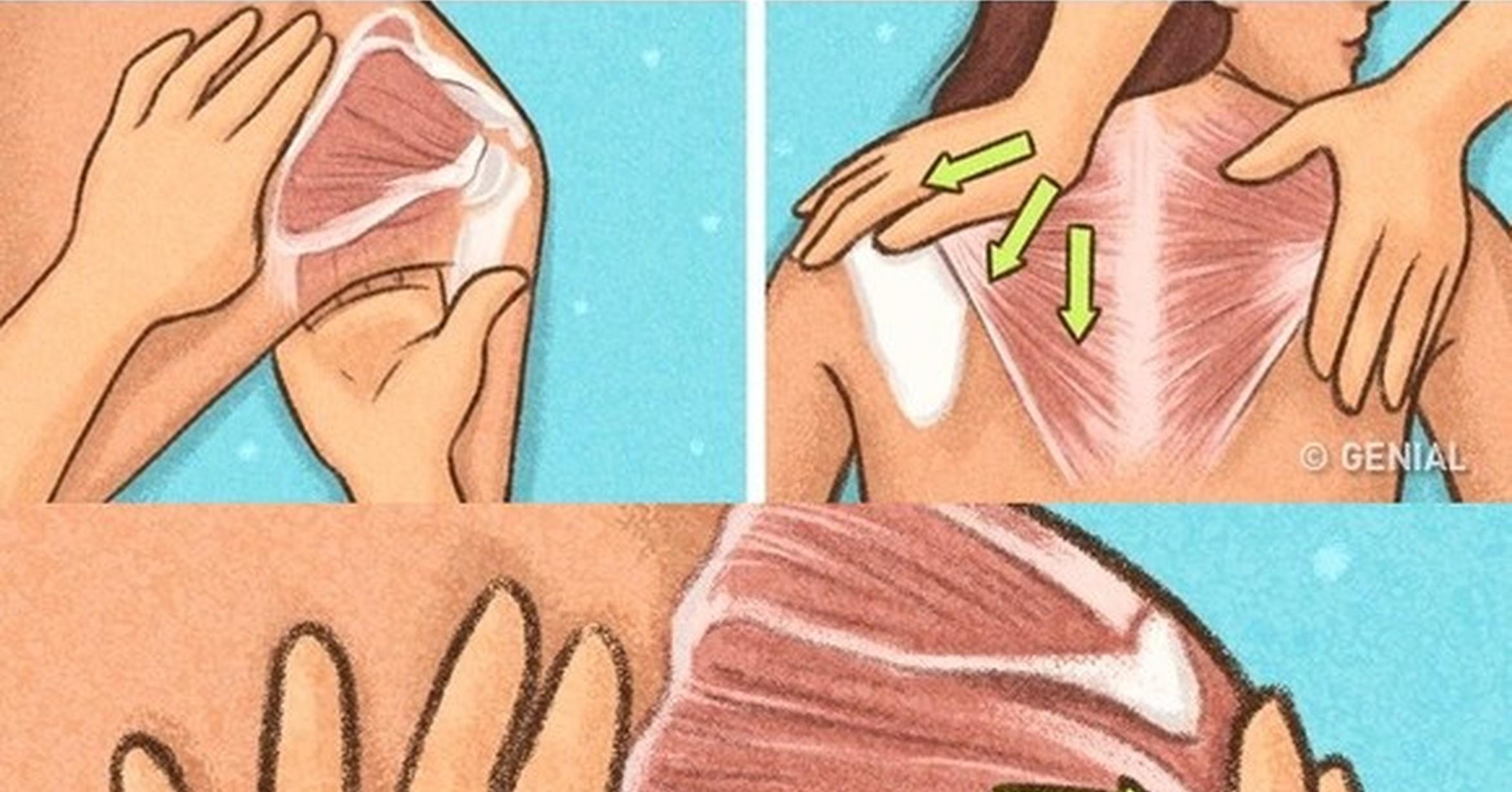 6 simples trucos muy sencillos que te convertirán en artista de los masajes