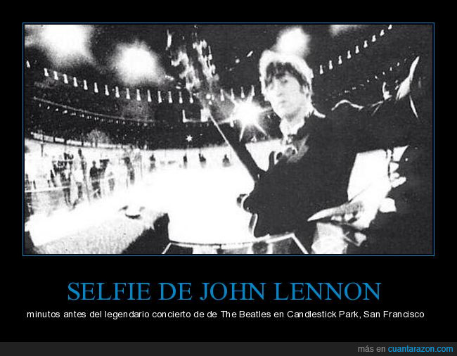 Candlestick park,John Lenon,The Beatles