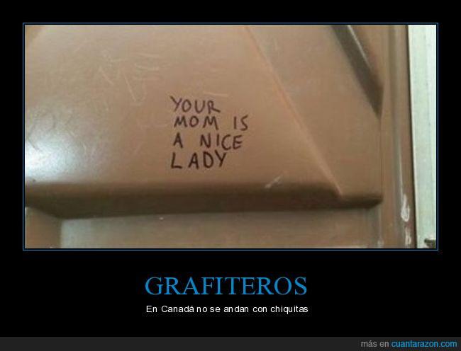 canadá,chiquitas,grafiteros,grafiti,nice lady