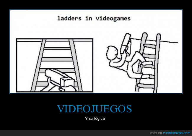 escaleras,videojuegos,wtf