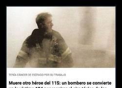 Enlace a Bombero irlandés es la víctima 124 en morir de los efectos secundarios del 9/11