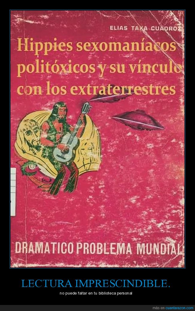 extraterrestres,hipies,libro