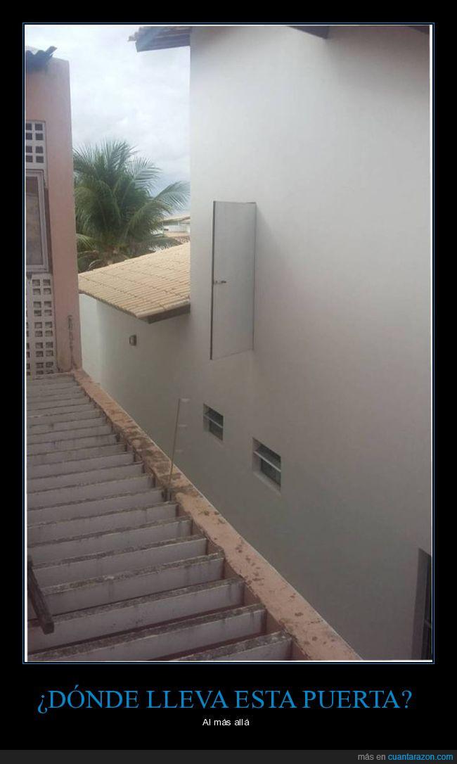 altura,pared,puerta