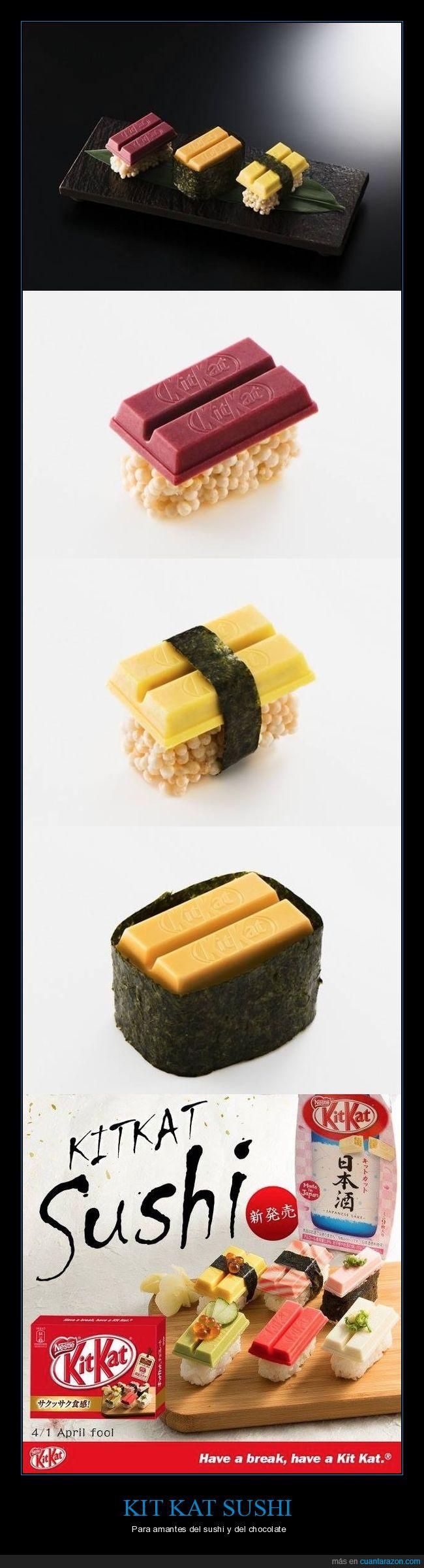 april fool,kit kat,kitkat,no salió a la luz,sushi