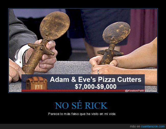 adan,cortador de pizza,eva,falso