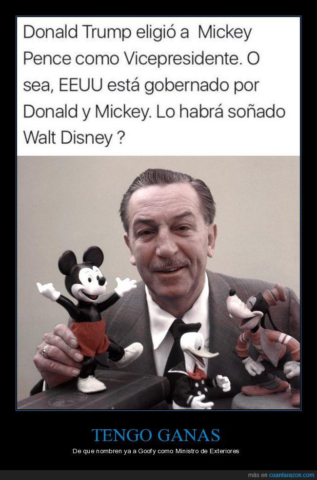 disney,donald trump,goofy,mickey