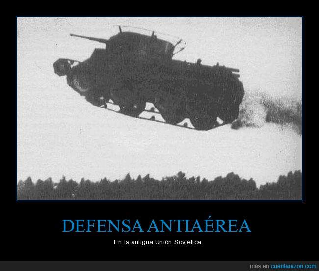 E.T,i believe i can fly,rusos,soviéticos,T-46,Tanque,volar