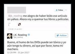 Enlace a 10 Veces que J. K. Rowling destruyó de forma brutal a los trolls de internet