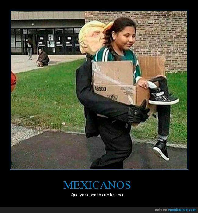 deportar,disfraz,donald trump,mexicanos
