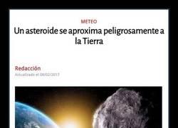 Enlace a Un asteroide se aproxima peligrosamente a la Tierra, en menos de 2 semanas está aquí