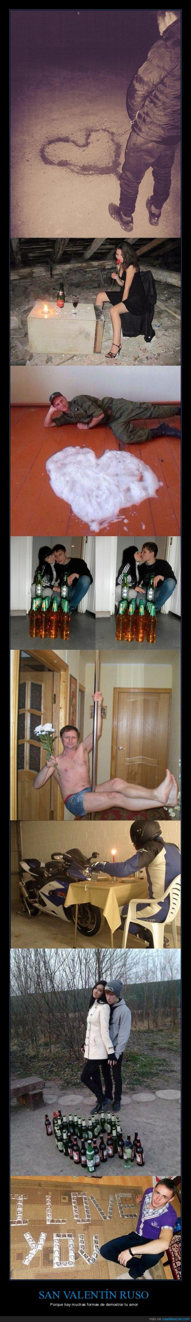 locos rusos,rusia,rusos,san valentín