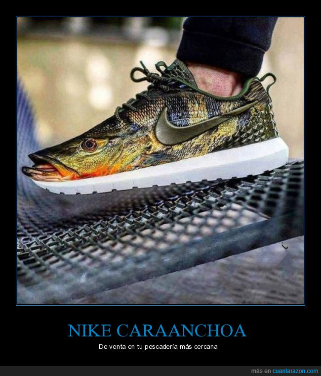 nike,pescado,tenis,zapatillas