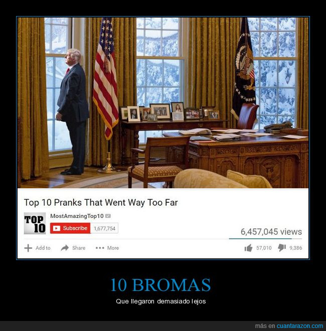 Presidente,si es el presidente aunque os joda.,Trump