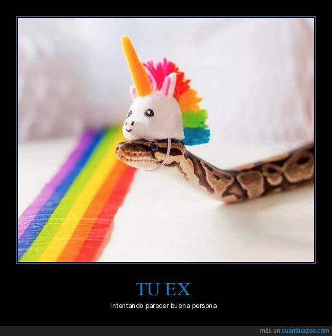 dulce,gorrito,serpiente,unicornio
