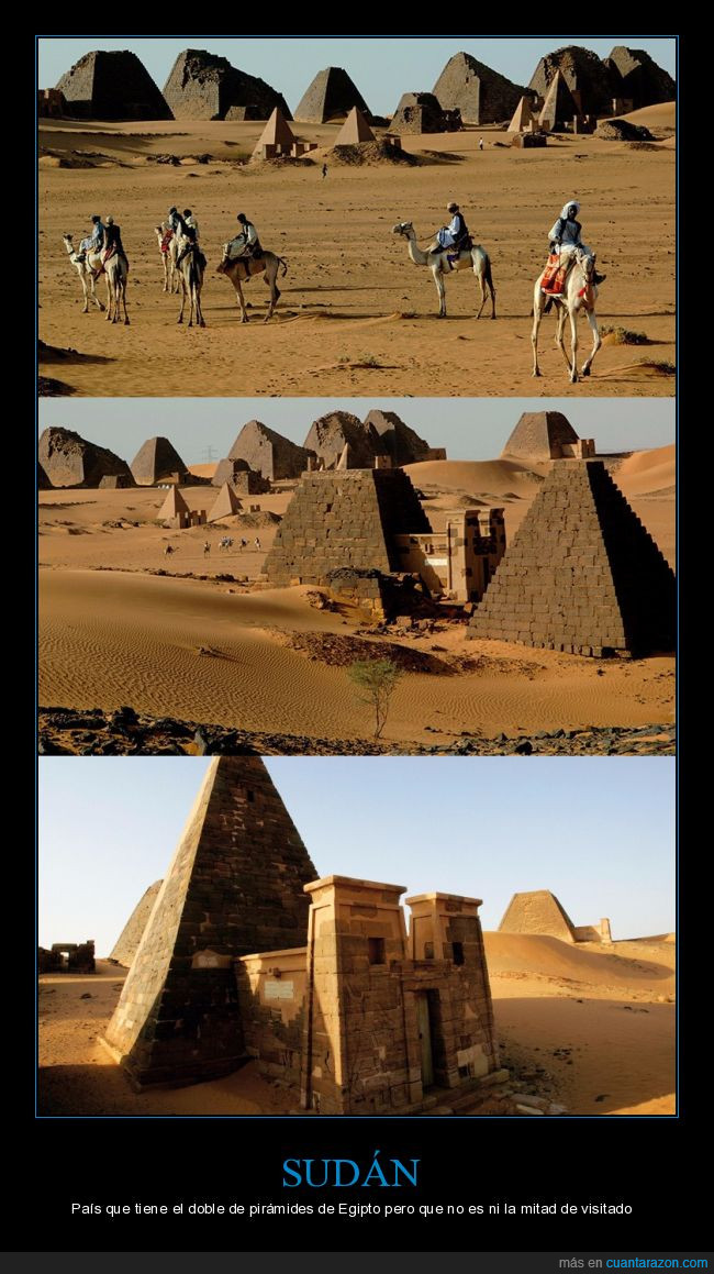 pirámides,sudán,turismo