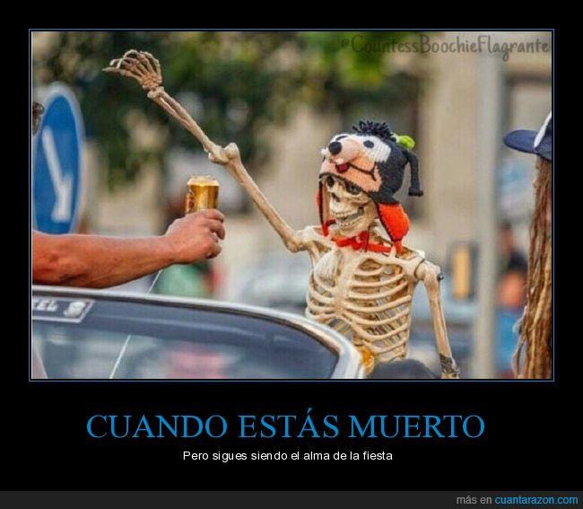 esqueleto,fiesta,muerto