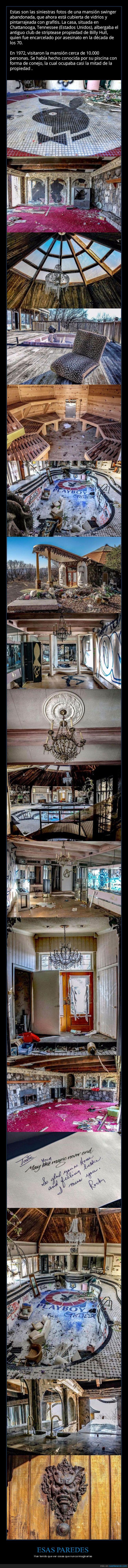 mansión abandonada,playboy