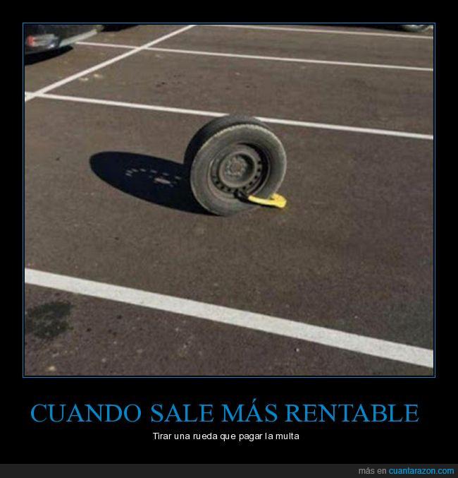 cepo,coche,multa,rueda