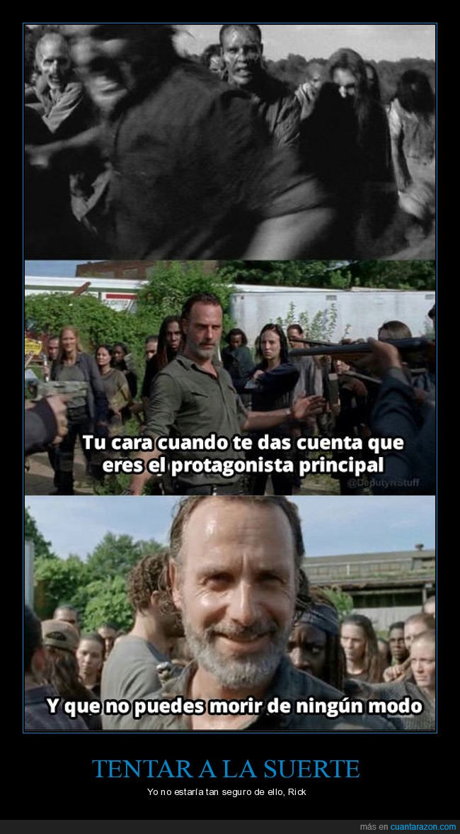 morir,protagnista,rick,the walking dead