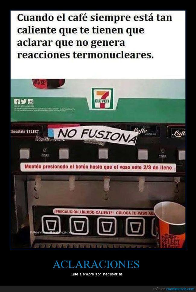 7 eleven,café,caliente,fail,fusión,typo