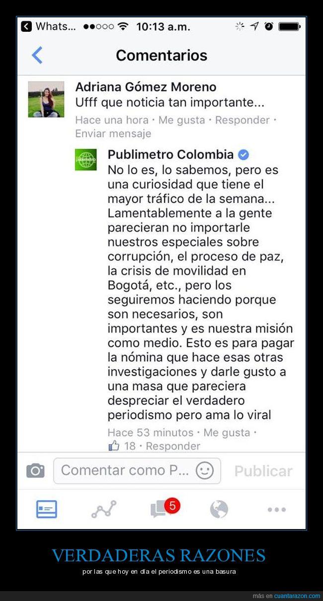 Colombia,periodismo,respuesta,TDFW,verdadero,viral