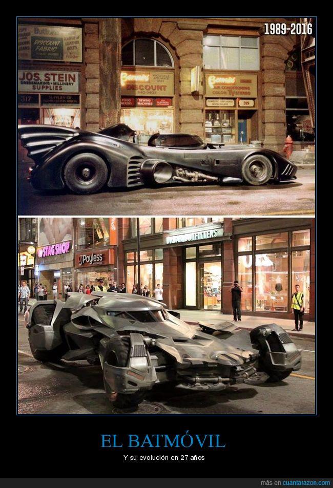 batman,batmóvil,coche,evolución
