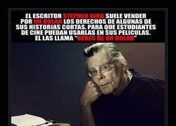 Enlace a Stephen King no solo es el amo del terror