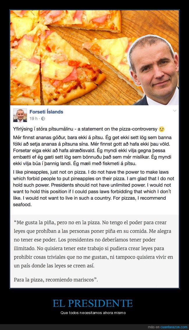 islandia,piña,pizza,presidente,prohibir