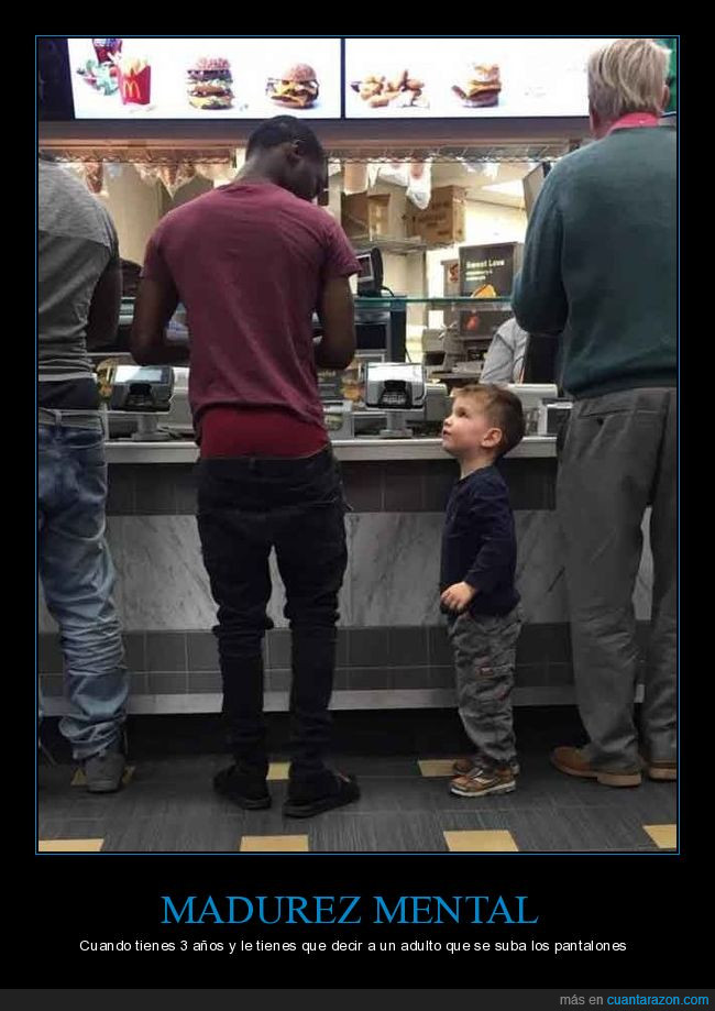 mcdonalds,niño,pantalones,pedir