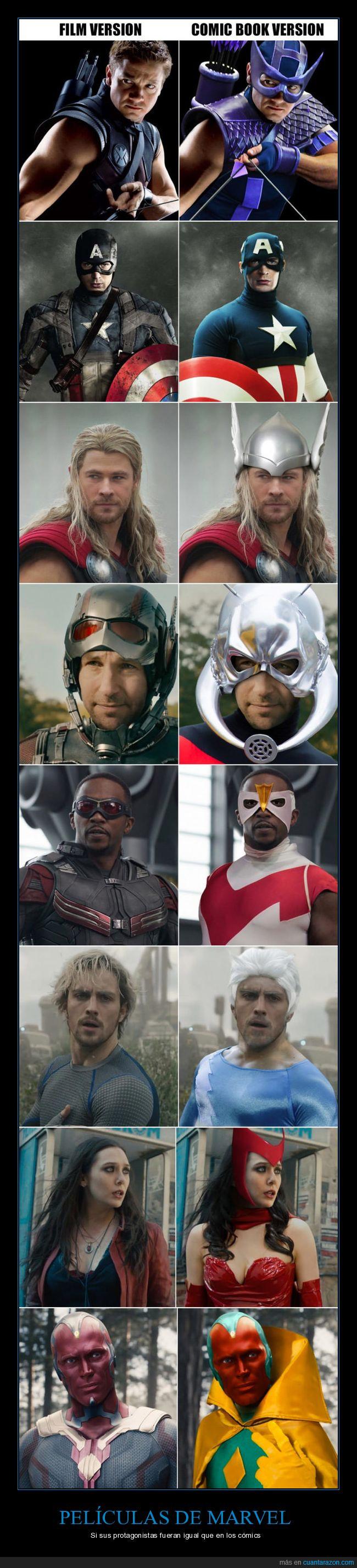 cómics,marvel,películas,personajes,real
