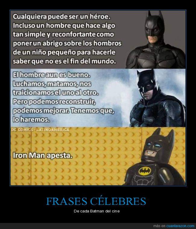 Cuánta Razón Frases Célebres De Cada Batman Del Cine