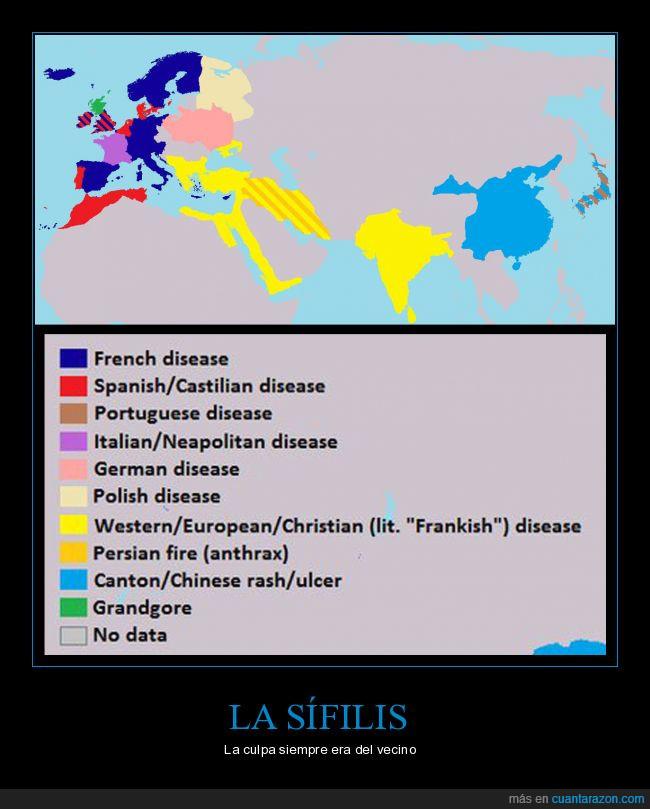 culpa,mapa,sífilis,vecinos