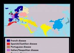 Enlace a Así llamaban a la sífilis en cada país, siempre acusando al país vecino