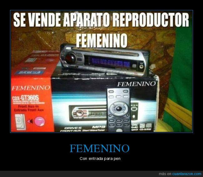 aparato,femenino