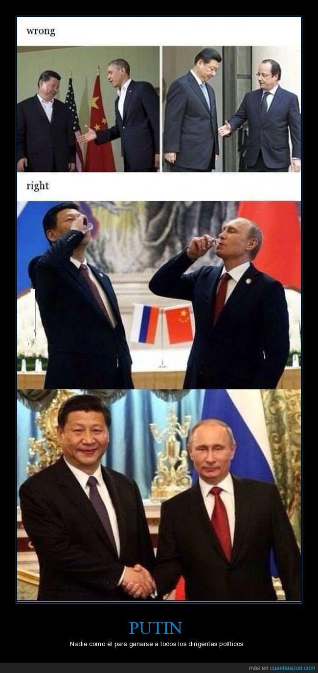 chupito,el papu de papus,Putin