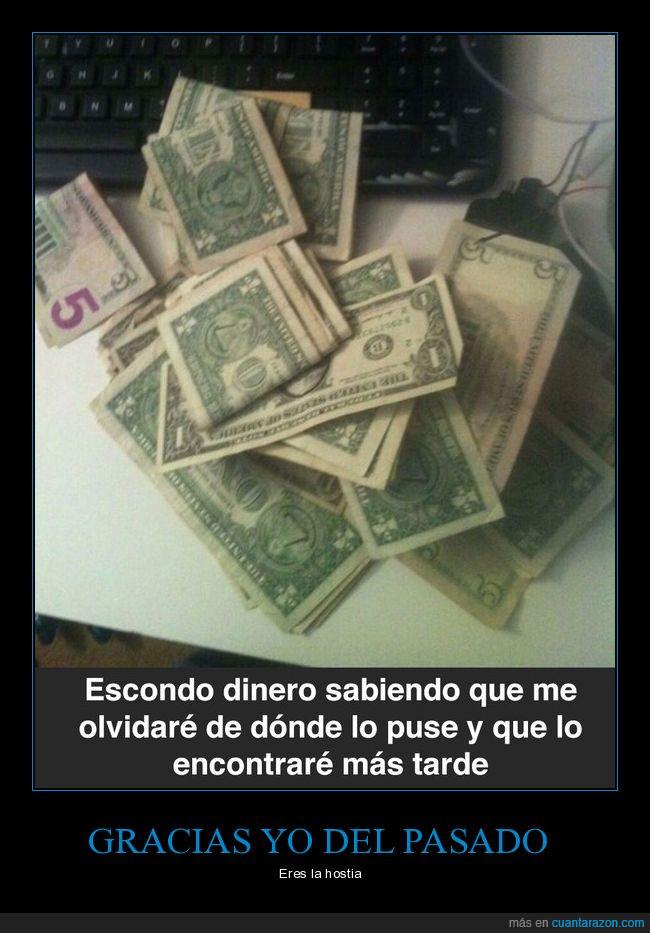 dinero,encontrar,futuro,pasado