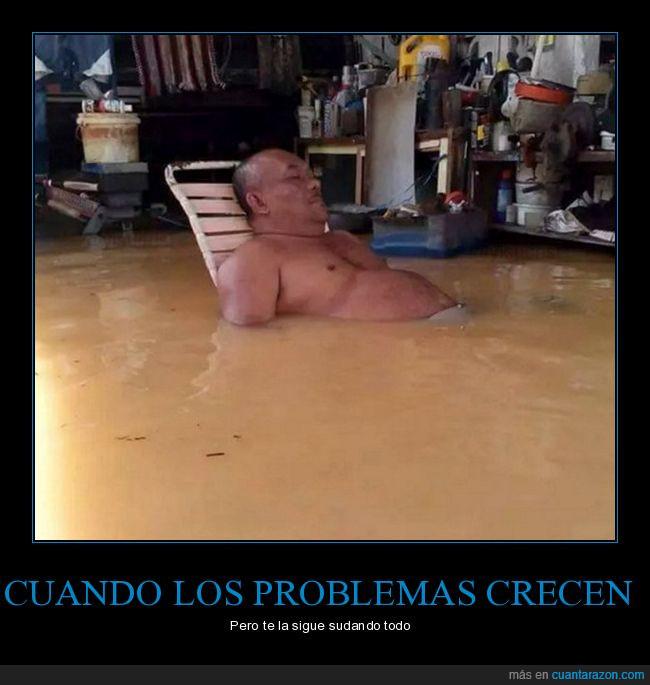 agua,gordo,inundarse,marea,silla