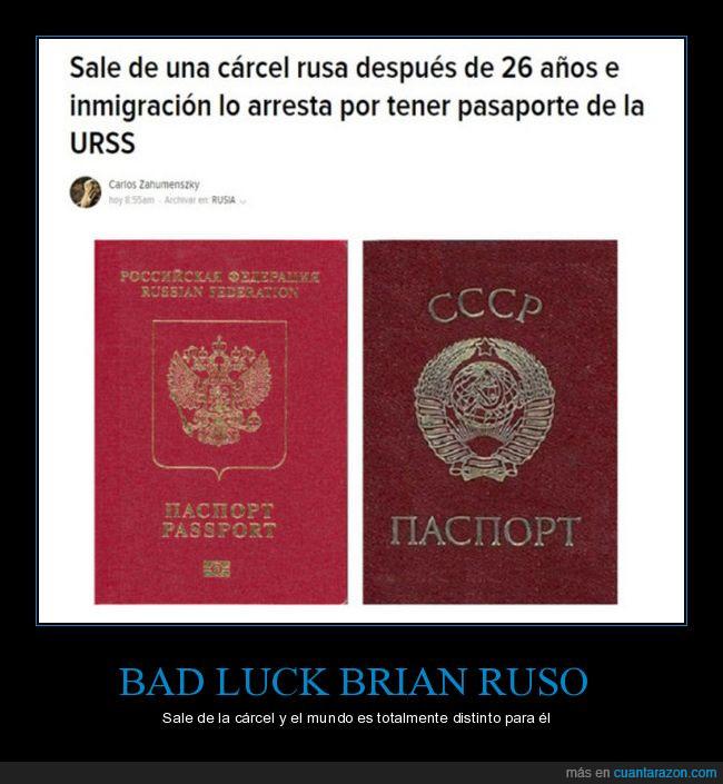 cárcel,pasaporte,rusia,ruso,urss